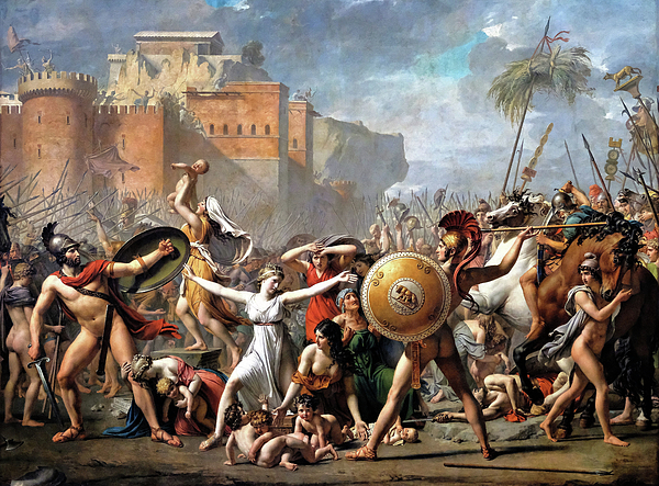 Jacques-Louis David - The Intervention of the Sabine Women - Digital Remastered Edition