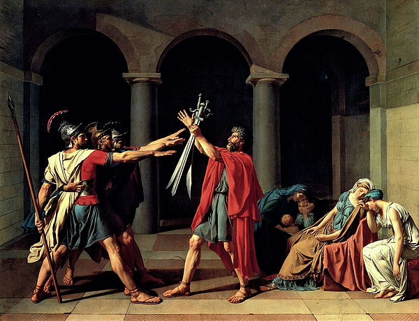 Jacques-Louis David - The Oath of the Horatii - Digital Remastered Edition