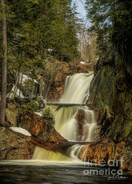 Jan Mulherin - The Tranquil Beauty of Small Falls - Maine