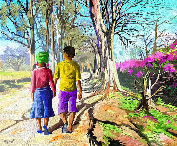 Anthony Mwangi - Walking on a Dirt Road
