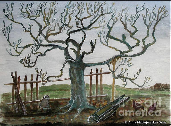 Anna Folkartanna Maciejewska-Dyba - Walnut Tree