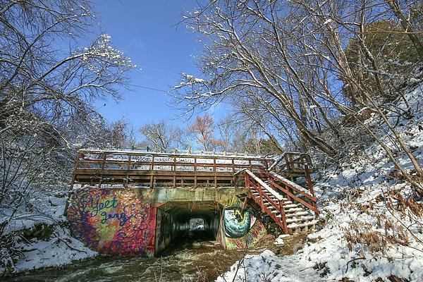 Wequiock Falls Bridge Overlook Brown County Wisconsin Photograph