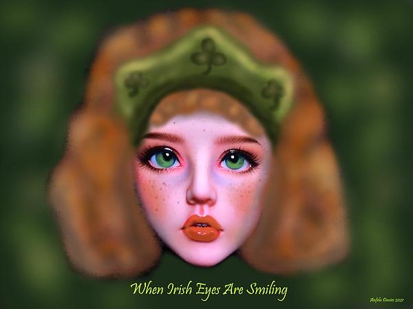 Angela Davies - When Irish Eyes Are Smiling