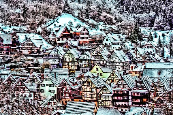 Dean Wittle - Winter Arrives in Schiltach Germany - DWP3051905
