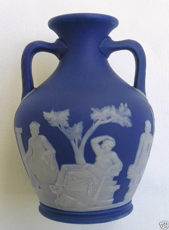 Josiah Wedgwood Relief -        Blue Portland Vase by  Wedgwood