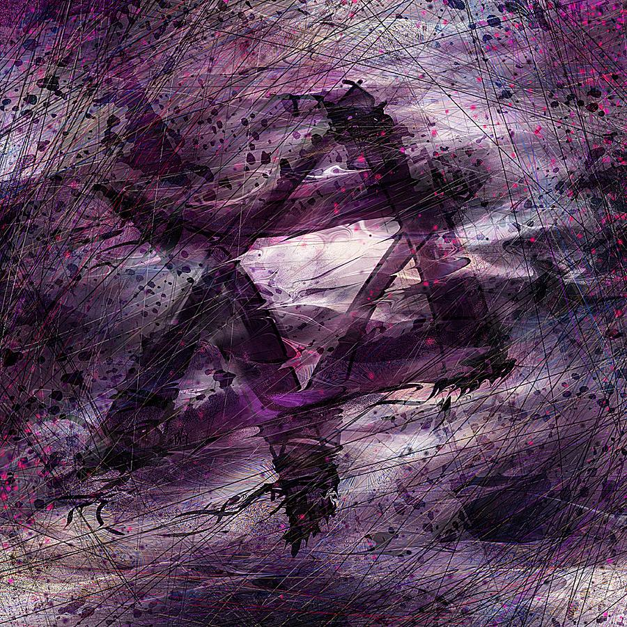 Abstract Digital Art - . . . When We Remembered Zion by Rachel Christine Nowicki