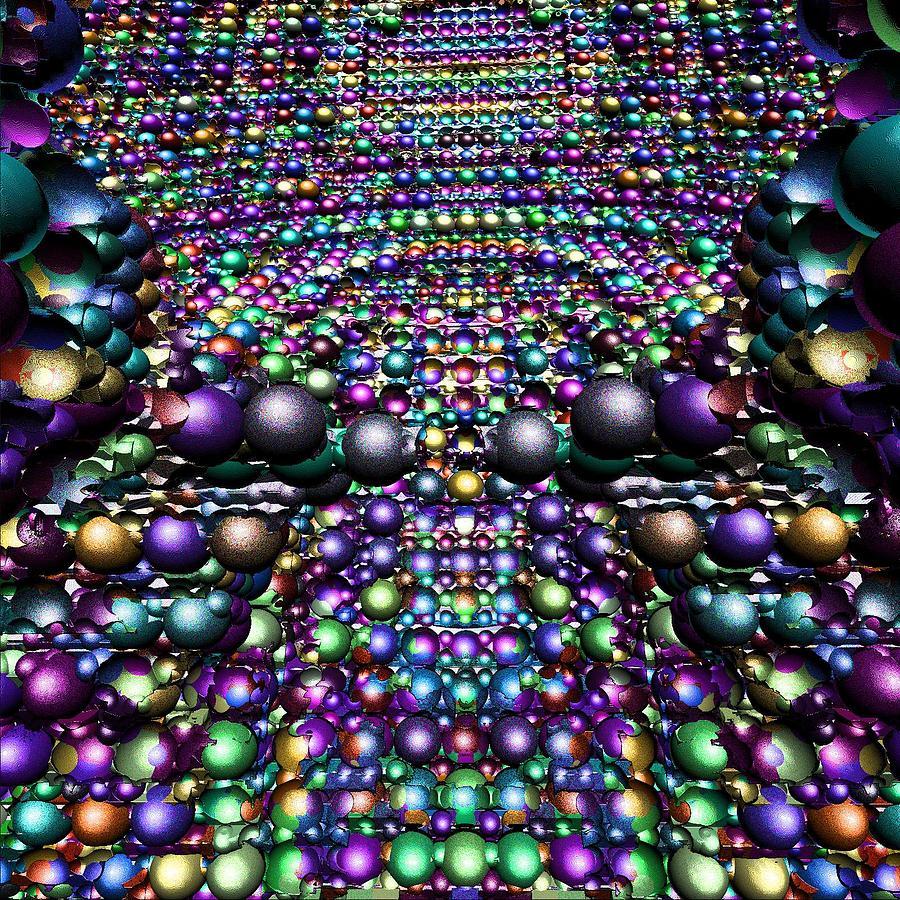 Balls Digital Art -    Dont Touch by Tabasco Raremaster