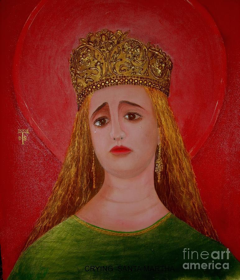 Prints Painting -    St.martha by Teo Santa