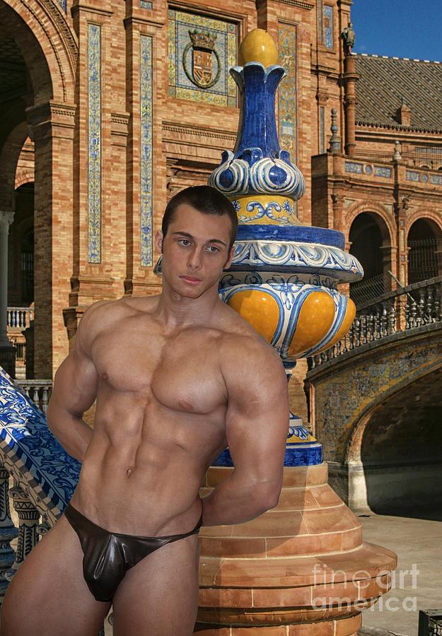 Male Photograph - # 24 Italiano En Sevilla  by Norberto Torriente