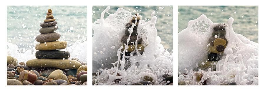 Beach Photograph -  Balance And Energy by Stelios Kleanthous