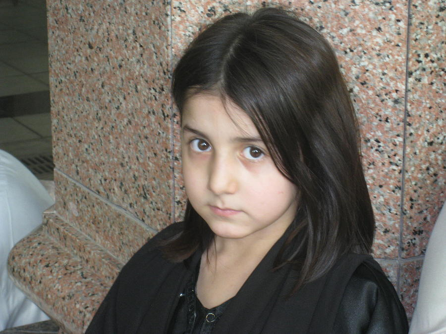 Portrait Photograph -  Beauty With Innocence by Saman Khan
