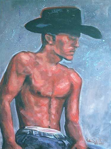 Modern Painting -  Briefs by Lee Smith