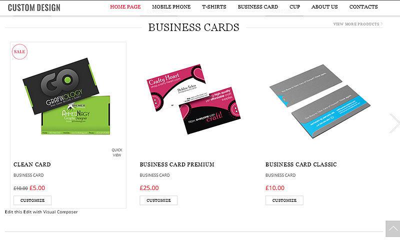 Business card design software custom business card php script business card design software photograph business card design software custom business card php script reheart Images