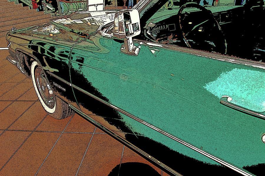 ,, Car 7 ,, Mixed Media