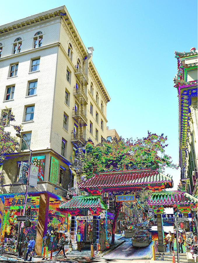 China Town Fantasy Photograph