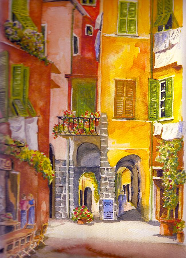 Italy Painting -   Cinque Terre Monterrosso by KC Winters