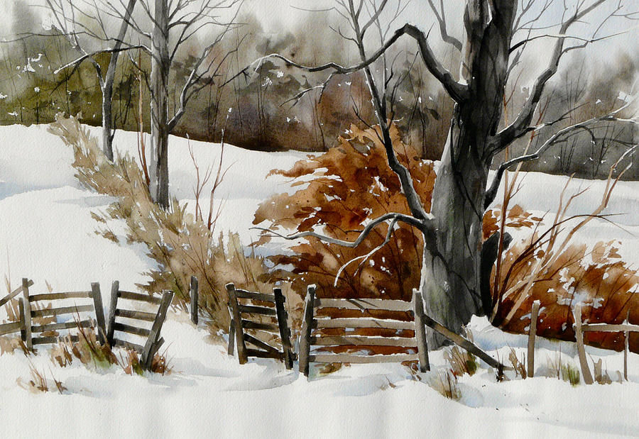 Cold Gate Painting by Art Scholz