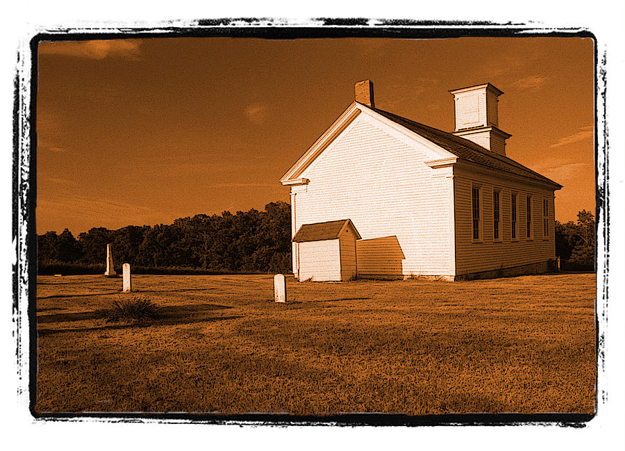 Wisconsin Photograph -  Country Church by Craig Perry-Ollila
