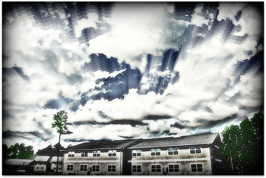 Portrait Photograph -  Deep Skies by Vanessa Reed
