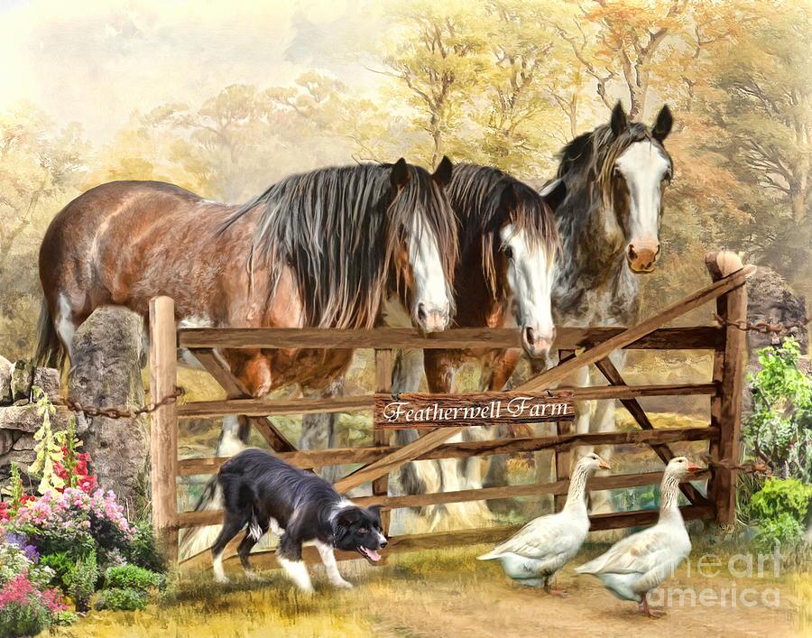 Featherwell Farm Digital Art