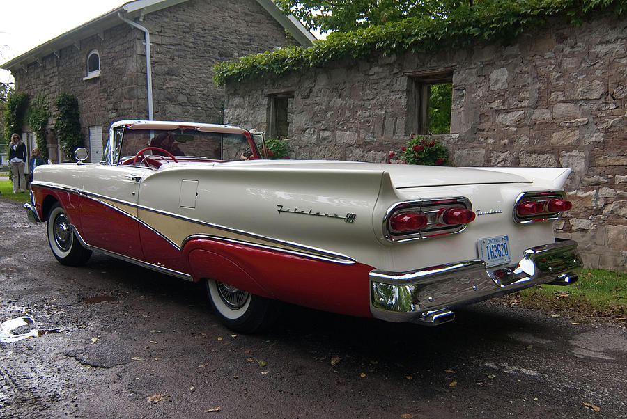 Antique Car Photograph -  Ford Fairlane  by Guy Whiteley