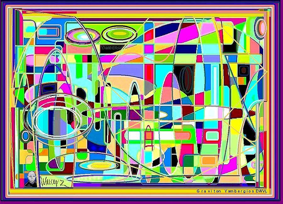 Graviton Walcopz Digital Art by Walcopz Valencia