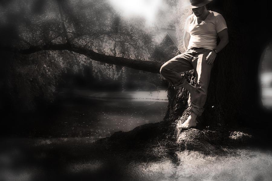 Self Portrait Photograph - ... by Gray  Artus
