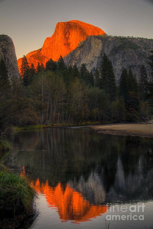 Half Dome at Sunset by Alex Morales