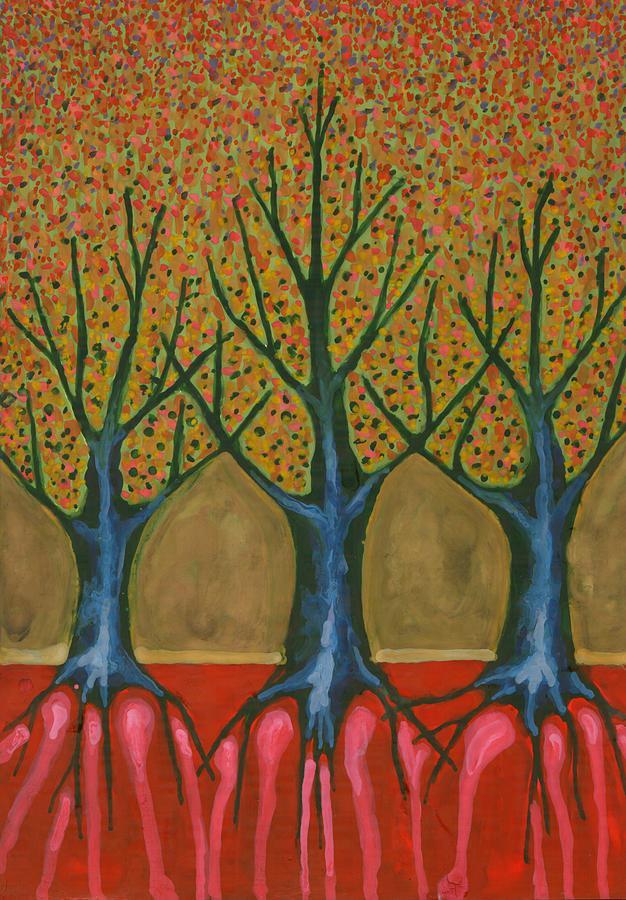 Colour Painting -  I Be Please With Life by Wojtek Kowalski
