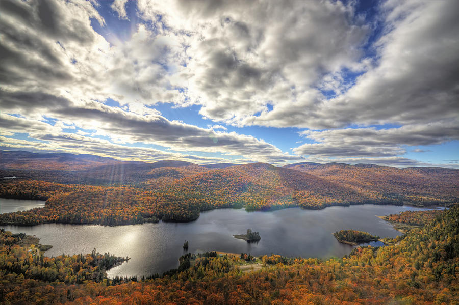 Laurentian Mountains Photograph By Mircea Costina Photography