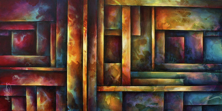 Levels Of Order Painting By Michael Lang
