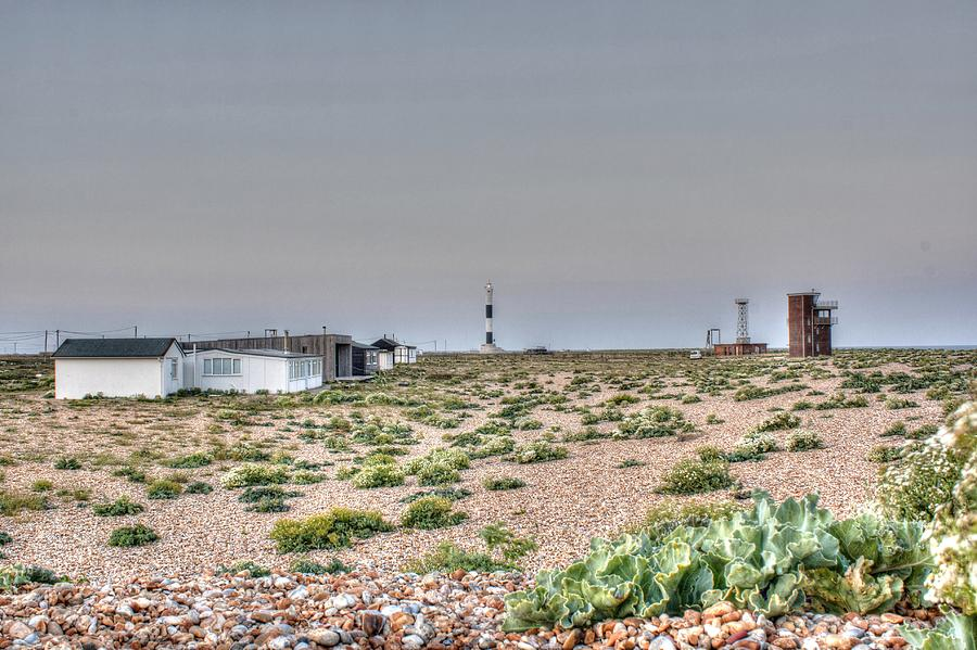 Lighthouse Photograph -  Lights On At The Lighthouse by Dave Godden
