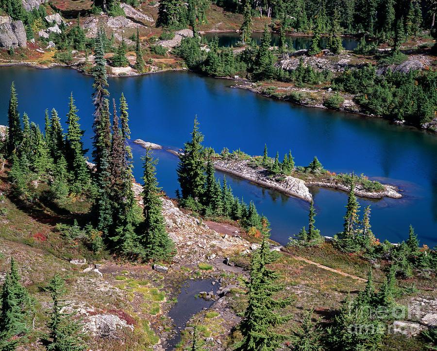 Lake Photograph -  Lila Lake by Tracy Knauer