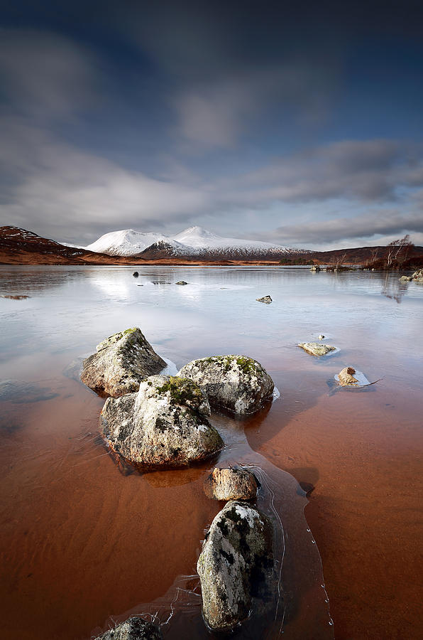 Glencoe Photograph -  Lochan Na H-achlaise by Grant Glendinning