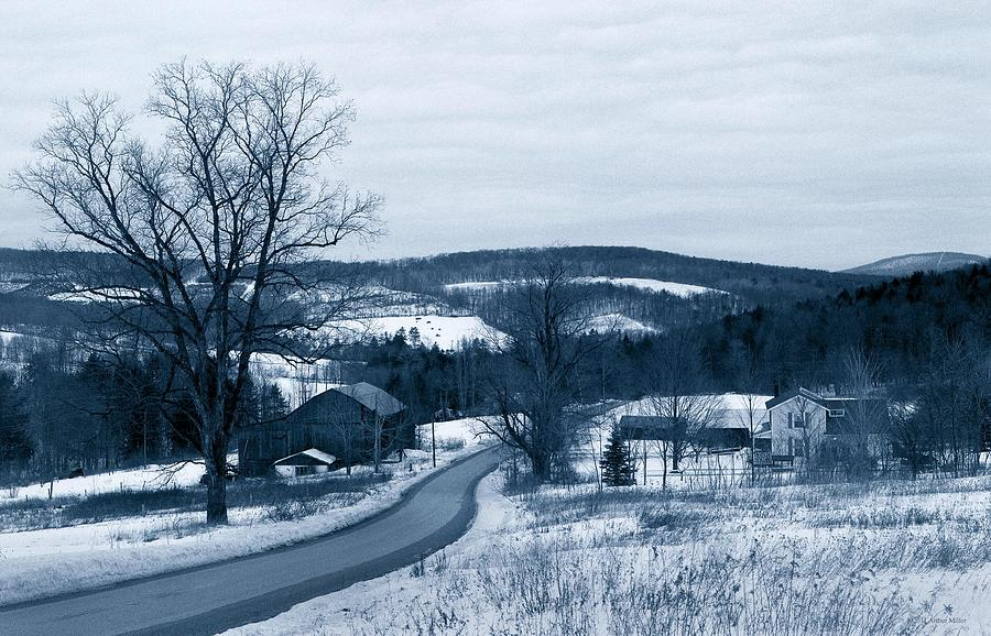 Long And Winding Road...thurston Hollow Pa. Photograph