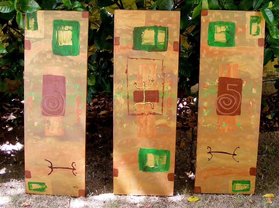 My Taino Roots Painting by Mauk
