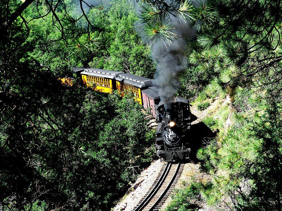 Train Photograph -  Nostalgic Moments by Carol Milisen