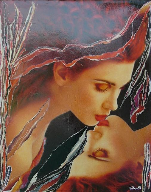 Image Painting -  Omaggio Al Mito Di Narciso by Stefano Rollero