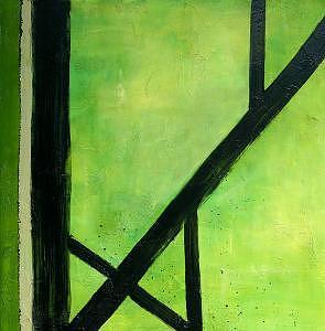 Painting- E Painting by Lida Van Bers