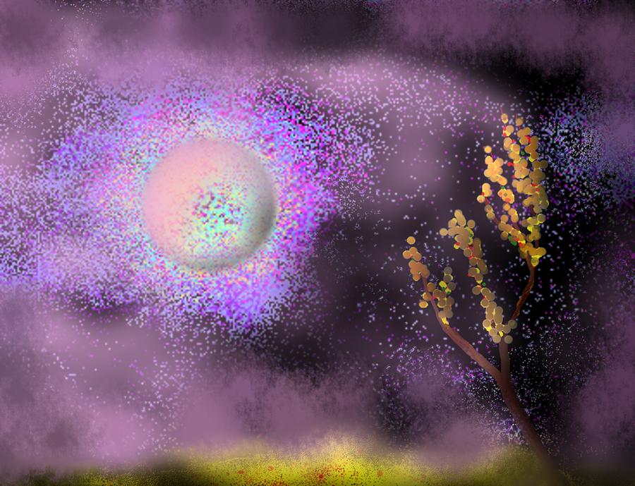 Planet Sqx Painting by Oleg Trifonov
