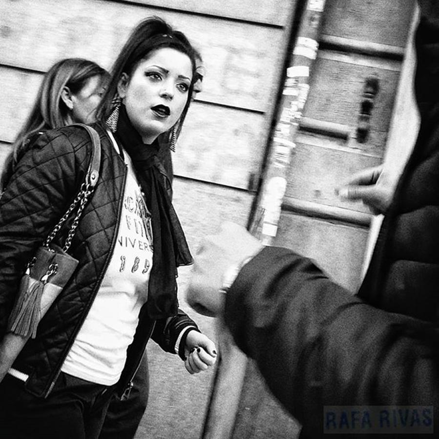 Street Photograph - -really!!??- #woman #girl #people by Rafa Rivas