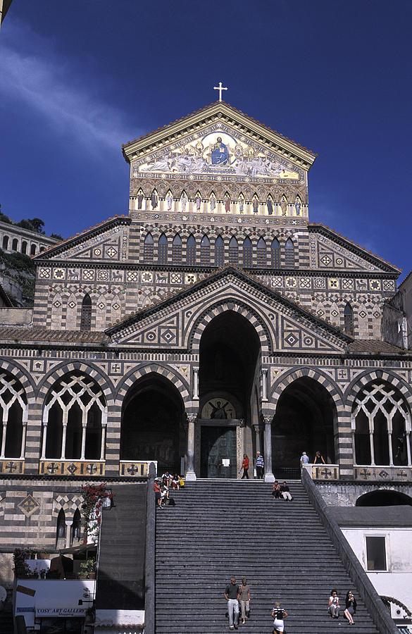 Amalfi Photograph -  Saint Andrea In Amalfi, Italy by Richard Nowitz