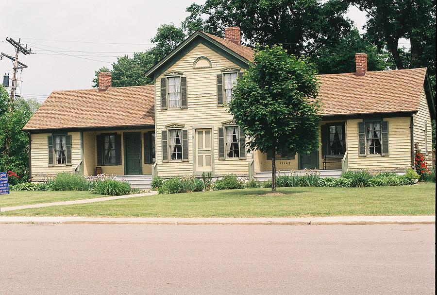 House Photograph -  Samuel R. Kingsley House by Cheryl Martin