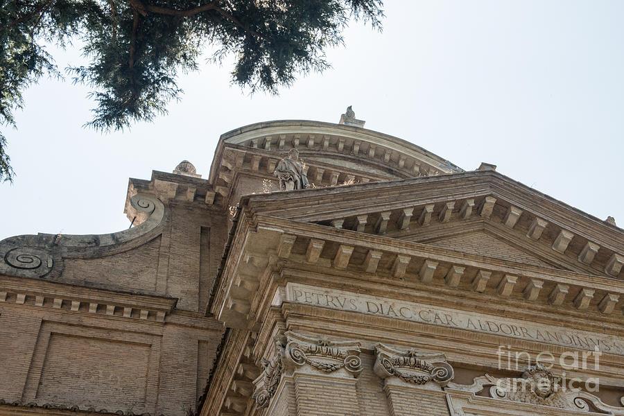 Coliseum Photograph -  Sancti Pauli Ad Aquas Salvias by Joseph Yarbrough