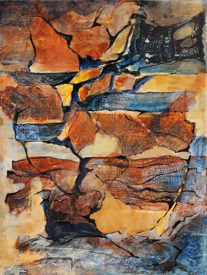 Sedimentary Strata by Kathie Selinger
