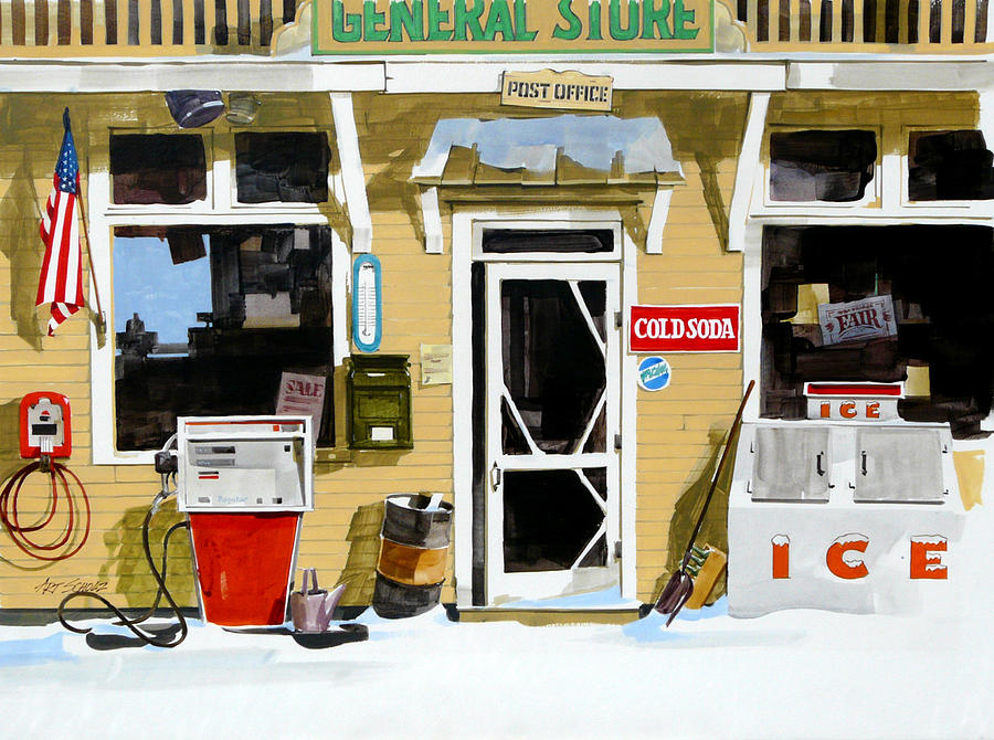 Soda n  Gas Painting by Art Scholz
