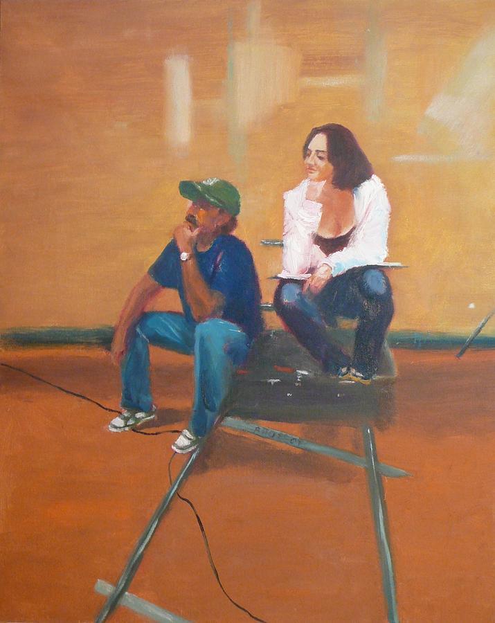 Genre Painting -  Sound People by Irena  Jablonski