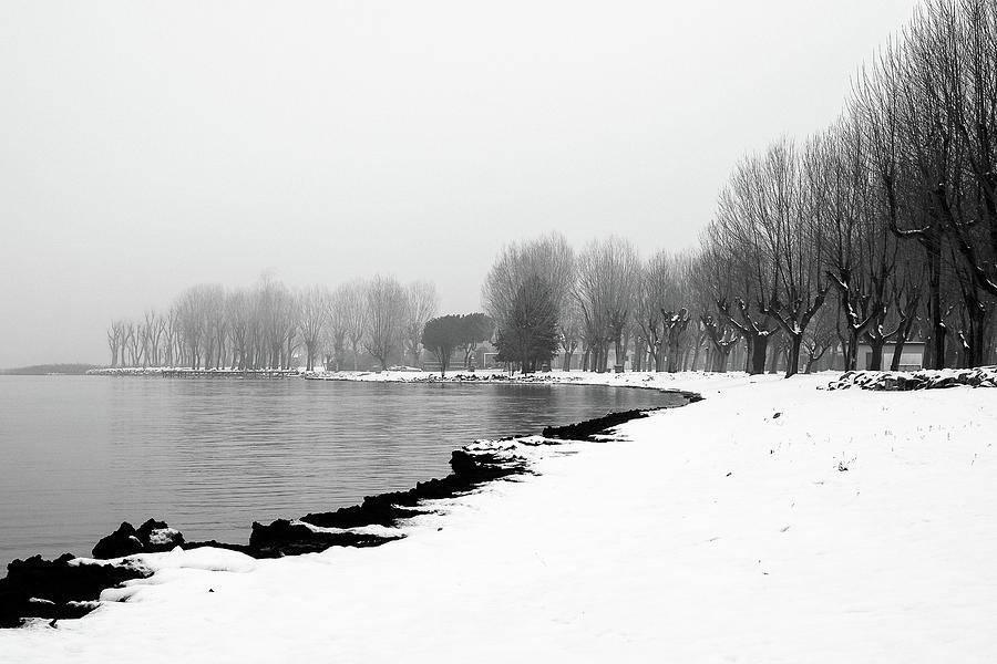 Landscape Photograph - .. Spiaggia Di Neve ... by Enrico Sottocorna