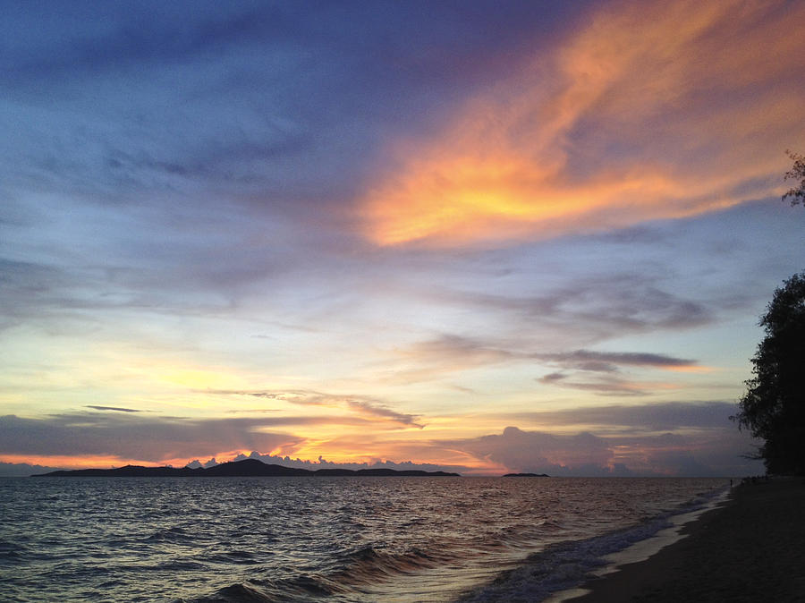Bay Photograph -  Splendiferous Beach Sunset #9733 by Don Charisma