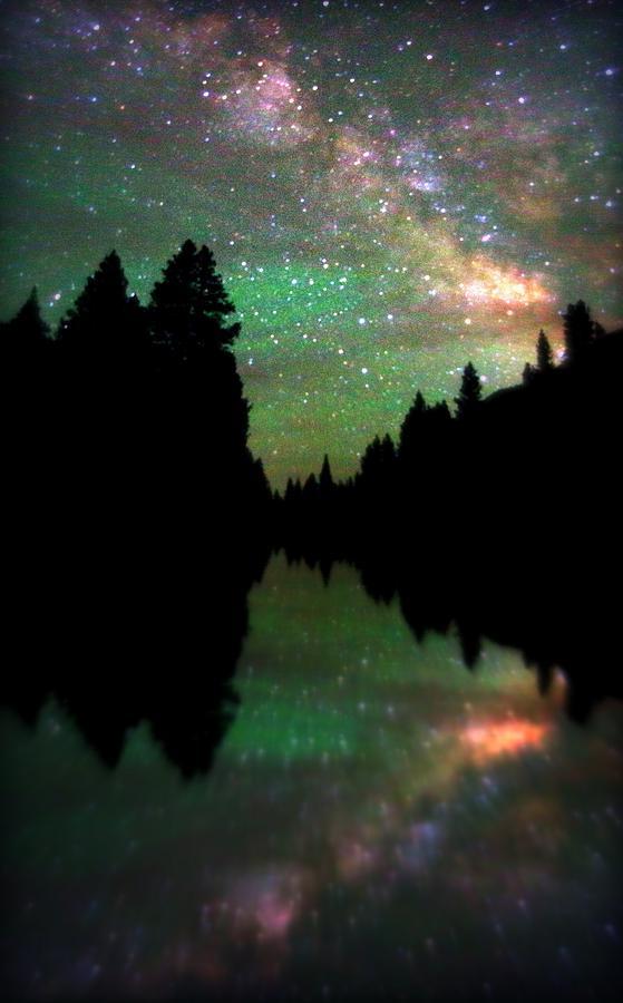 Crested Butte Photograph -  Starry Dreamscape by Matt Helm